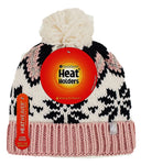 Ladies HEAT HOLDERS LAGAN Pom Pom Hat