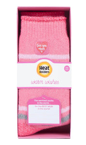 """Love You Mum"" Heat Holders Warm Wishes Gift Boxed Socks"