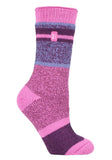 Ladies Heat Holders 4-8 UK 37-42 EUR Block Twisted Stripe ENCHANTED