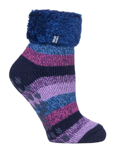 Damen HEAT HOLDERS Lounge Twist Stripe Socken