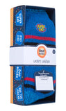 "Mens HEAT HOLDERS Warm Wishes Gift Boxed Socks ""Super Dad"""