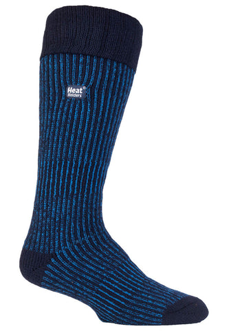 Mens Heat Holders Boot Socks - Navy