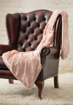 HEAT HOLDERS Luxury Fleece Blanket / Throw ... Dusty Pink