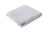 HEAT HOLDERS Luxury Fleece Blanket / Throw ... Ice Grey