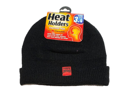 Mens HEAT HOLDERS Turnover Cuff Hat