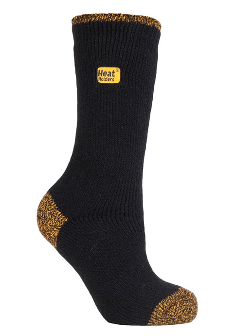 Ladies Workforce Heat Holders Socks 4-8 UK 37-42 EUR