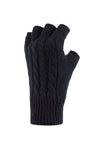 Ladies HEAT HOLDERS Fingerless Gloves