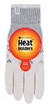 Ladies Heat Holders Heatweaver Thermal Trondheim Gloves - Cream / 2 Sizes