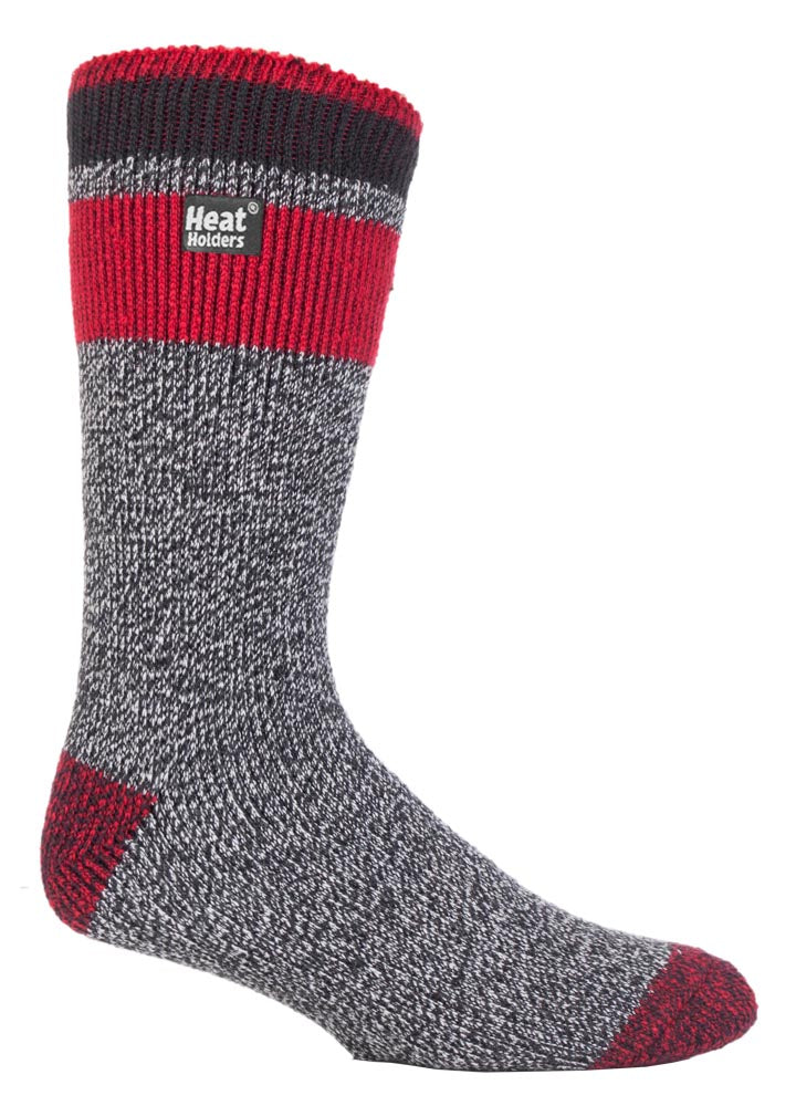 Mens Heat Holders Fashion Twist Socks - LORTON