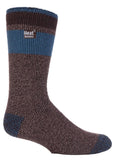 Mens Heat Holders Fashion Twist Socks (6-11, LOWTHER)