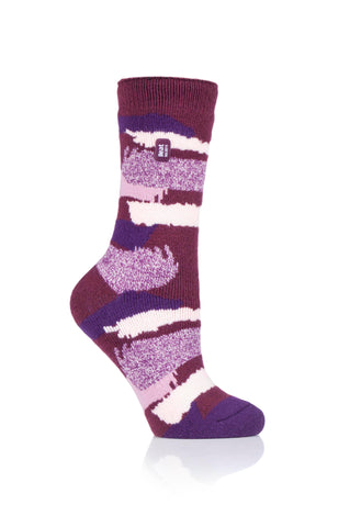 Ladies HEAT HOLDERS Jaquard LITE Socks