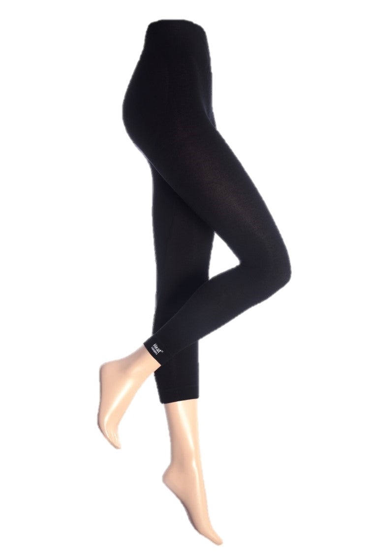 Ladies Thermal Bottoms Black - 2 Sizes