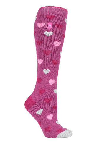Ladies HEAT HOLDERS Jacquard Long LITE Socks