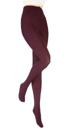 Ladies Heat Holders Thermal Tights, Purple, 3 Sizes