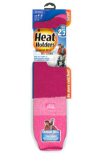 Load image into Gallery viewer, Ladies Heat Holders Ski Socks 4-8 UK 37-42 EUR - Pink Light Pink Raspberry