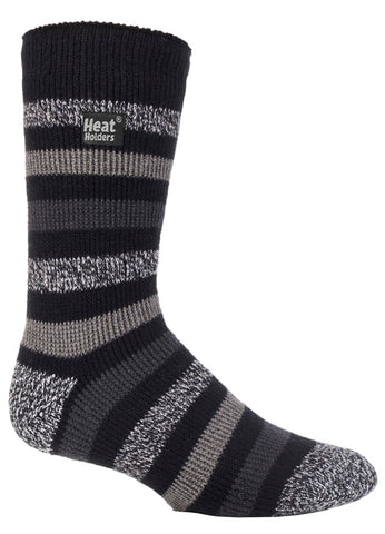 Herren HEAT HOLDERS Twist Stripe Socken