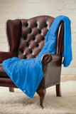 HEAT HOLDERS Luxury Fleece Blanket / Throw ... Royal Blue