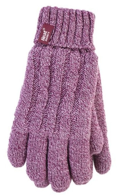 Ladies Heat Weaver Heat Holders Gloves - 7 Colours