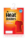 Mens HEAT HOLDERS Thermal Short Sleeve Vest