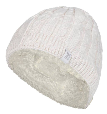 Ladies Heat Holders Heat Weaver Cable Knit Alesund Hat - 5 Colours