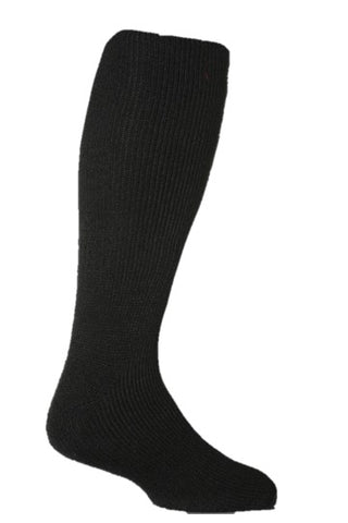 Men's Long LITE Heat Holders Socks Black 6-11 UK 39-45 EUR