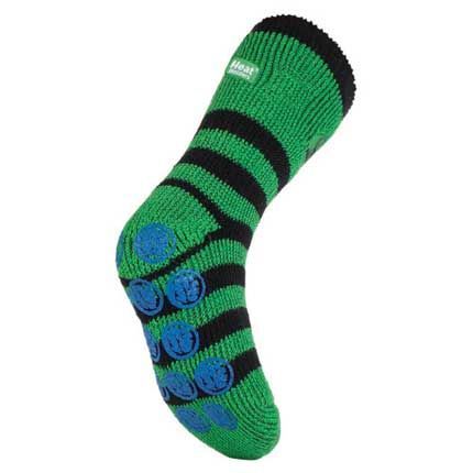 Kids Hulk Heat Holders Slipper Socks 2 Sizes