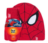 Kids Licensed Marvel SPIDERMAN Hat and Mittens Age 3-6 Years