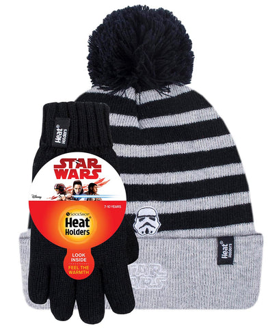 Kids Licensed STAR WARS Hat and Gloves  Age 7-10 Years
