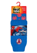 Load image into Gallery viewer, Kids Ultimate Spiderman Heat Holders Slipper Socks 2 Sizes