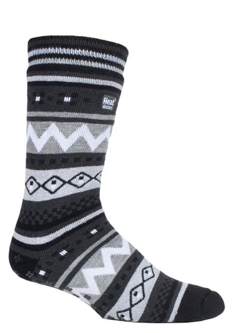 Herren HEAT HOLDERS SOUL WARMING Zweischichtige Slipper-Socken