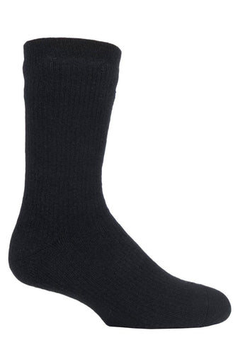 Mens Heat Holders Outdoor Waterproof Socks 6-11 UK 39-45 EUR Black