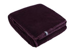 HEAT HOLDERS Super Plush Throw / Blanket ... Burgundy