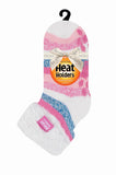 Ladies HEAT HOLDERS Lounge Twist Stripe Socks