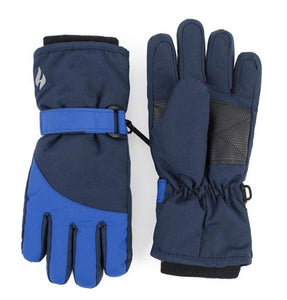 Boys Navy / Blue Performance Gloves Age 5-10 Years