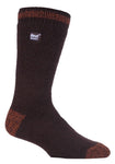 Mens Heat Holders Socks 6-11 UK 39-45 EUR Twist Heel and Toe Earth Adventurer