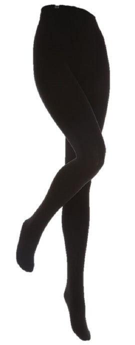Kids Black Heat Holders Thermal Tights 4 Sizes
