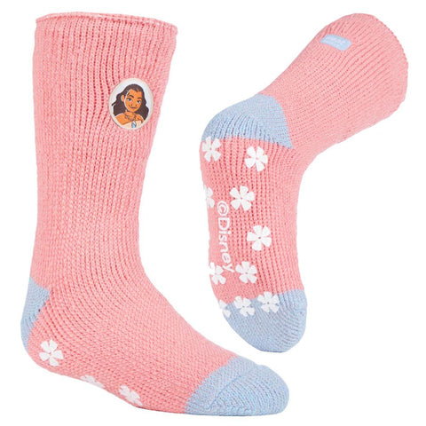 Kids HEAT HOLDERS Moana Slipper Socks