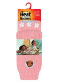 Kids Moana Heat Holders Slipper Socks 2 Sizes
