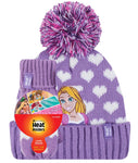 Kids Licensed DISNEY PRINCESS RAPUNZEL Hat and Mittens Age 3-6 Years