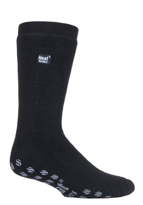 6-11 UK 39-45 EUR IOMI  Heat Holders Dual Layer Raynaud's Thermal Warm Slipper Socks  BLACK