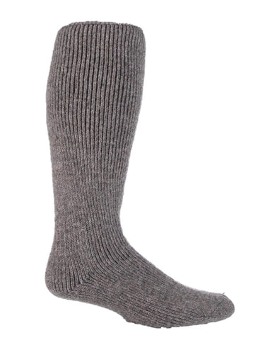 Mens HEAT HOLDERS Long Wool Socks - Stone