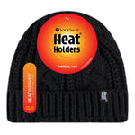 Ladies Heat Weaver Heat Holders Cable Turnover Hat - 7 Colours