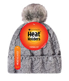 Ladies HEAT HOLDERS Original Pom Pom Hat