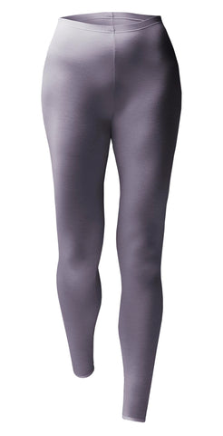 Ladies Lightweight Thermal Bottoms - Lilac Blush Marl - 4 Sizes