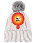 Ladies Heat Holders Heatweaver Solna Turn Over Pom Pom Hat - 5 Colours
