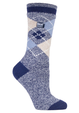 Ladies HEAT HOLDERS Argyle LITE Socks