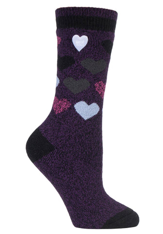 Damen HEAT HOLDERS Jacquard LITE Socken