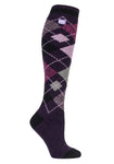 Ladies HEAT HOLDERS Argyle Long LITE Socks