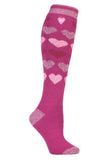Damen HEAT HOLDERS Jacquard Long LITE Socken