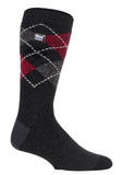Mens HEAT HOLDERS LITE Argyle Socks